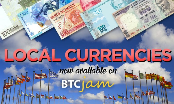 New Local Currencies Added
